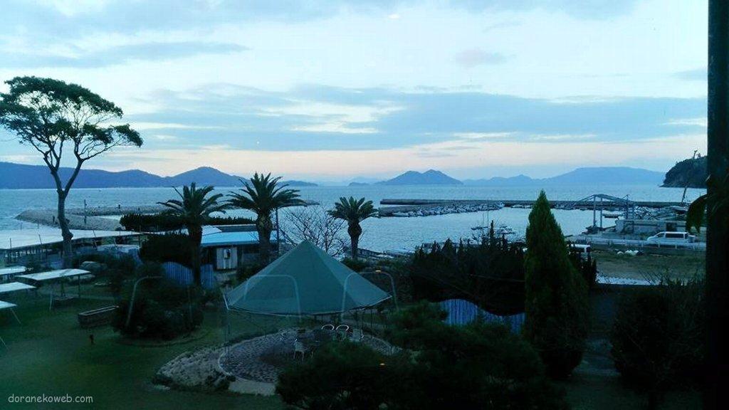 屋島から見る瀬戸内海