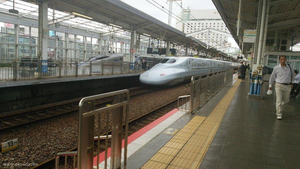 久々に上京@新幹線