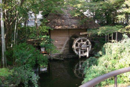 都会のオアシス、東陽町の水車小屋