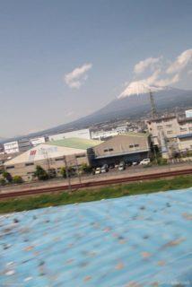 富士山@東海道新幹線の車窓から。
