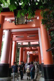 伏見稲荷駅は、京都府京都市伏見区深草一坪町にある、京阪電気鉄道京阪本線の駅。