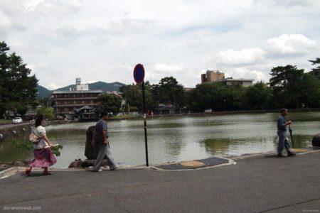 猿沢の池ぇ