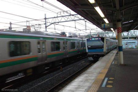 西川口駅は、埼玉県川口市並木二丁目にある、JR東日本の駅。