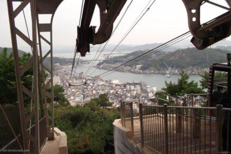 千光寺山ロープウェイは、広島県尾道市の千光寺山にある、市営索道。