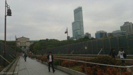 新旧比較対比@天王寺公園