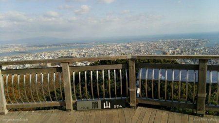 眉山ロープウェイは、徳島県徳島市の眉山にある市営のロープウェイ。