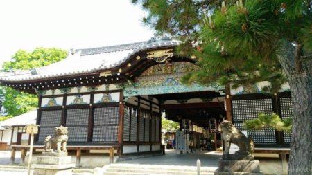 御香宮神社は京都市伏見区にある神社。
