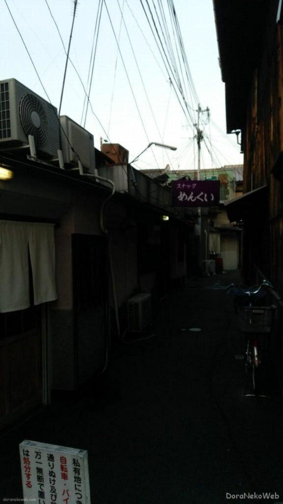 四条大宮界隈、観光にゃほど遠い京の下町ねw