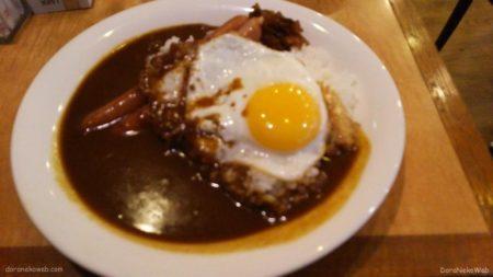 京橋の平野屋さんで食べたカレーライス。