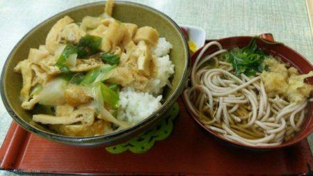 京風の「きつね丼」に飢えておりましたので。