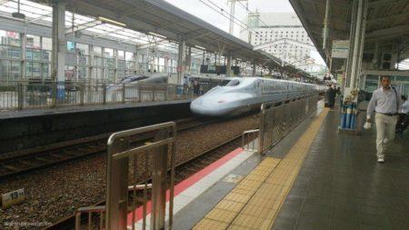 諸般の事情で久々に上京@新幹線。