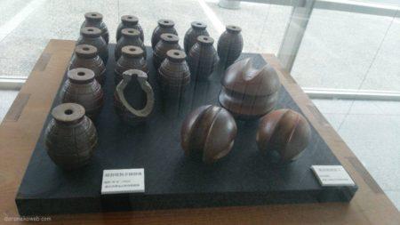備前焼の手榴弾、展示しましたか。