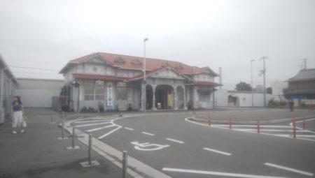 再訪、浜寺公園駅。