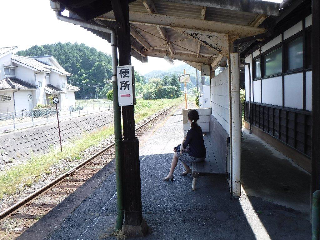 甲奴駅は、広島県三次市甲奴町本郷字時兼にある、西日本旅客鉄道福塩線の駅である。