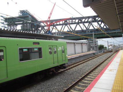 JR淡路駅は、大阪府大阪市東淀川区菅原五丁目にある、JR西日本の駅。