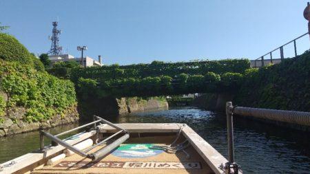 本日のメインイベントは堀川遊覧船でございます。