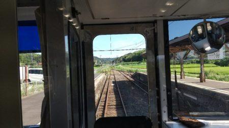 一畑口駅は、島根県出雲市小境町にある一畑電車の駅。