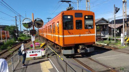 川跡駅は、島根県出雲市武志町に位置する一畑電車の駅。
