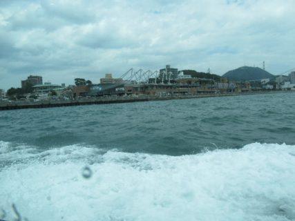 門司港から唐戸まで、の船旅です。