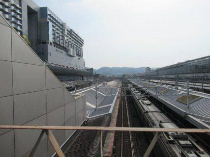 新幹線から在来線特急に乗り換え@京都駅