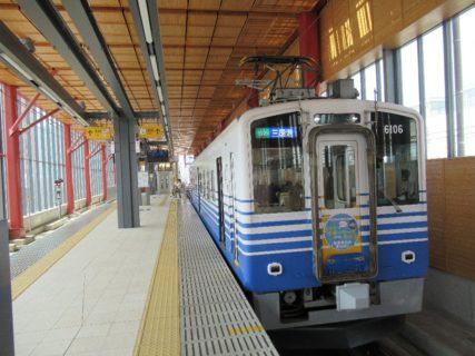 えちぜん鉄道三国芦原線で三国港を目指します。