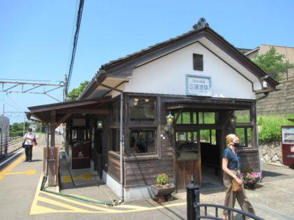 三国港駅は、福井県坂井市三国町宿一丁目にある、えちぜん鉄道の駅。