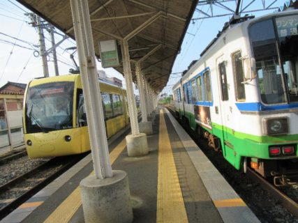 越前武生駅は、福井県越前市府中三丁目にある、福井鉄道の駅。