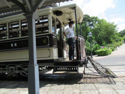 テーマパーク博物館明治村、京都市電。