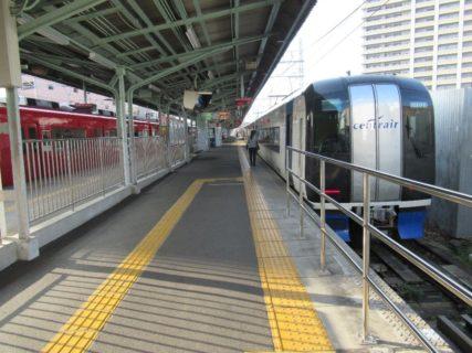 名鉄岐阜駅から名鉄名古屋駅まで、ミュースカイで移動です。