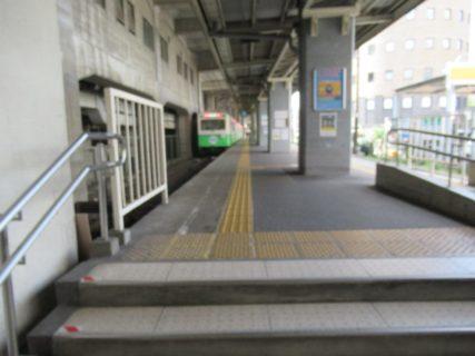 四日市あすなろう鉄道は、数少ない軽便鉄道規格の鉄道。