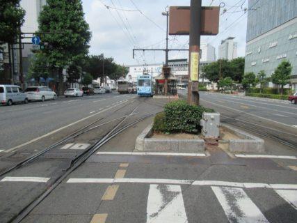 岡山駅前停留場は、岡山電気軌道東山線・清輝橋線の路面電車停留場。
