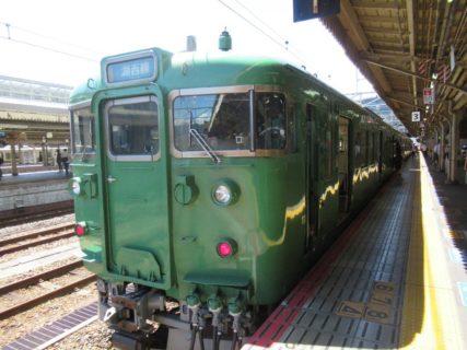 京都駅から湖西線に乗車しますのですが。