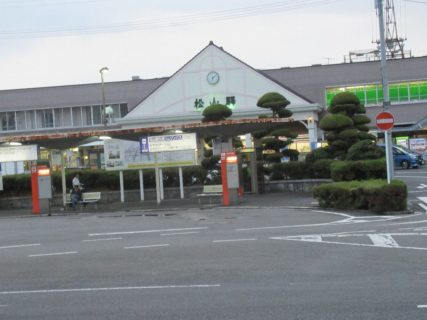 松山駅は、松山市南江戸一丁目にある、JR四国の駅。