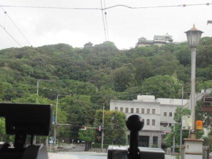 勝山町停留場は、松山市勝山町二丁目にある伊予鉄道の停留所。