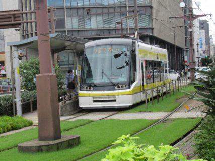 鹿児島中央駅前停留場は、鹿児島市交通局の路面電車停留場。