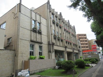 通りすがりの、日本瓦斯本社ビルですが。