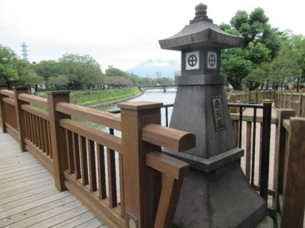 甲突川歴史ロード維新ふるさとの道を歩きます。