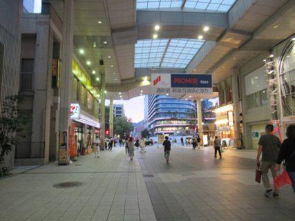 熊本市繁華街のひとつ、新市街です。