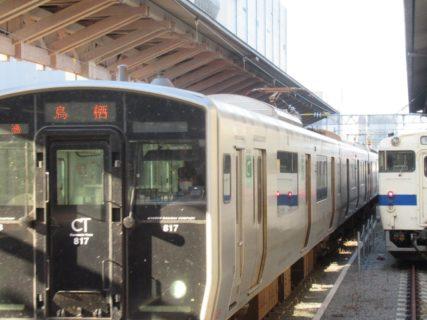 熊本駅の在来線ホームが賑やかでしたので。