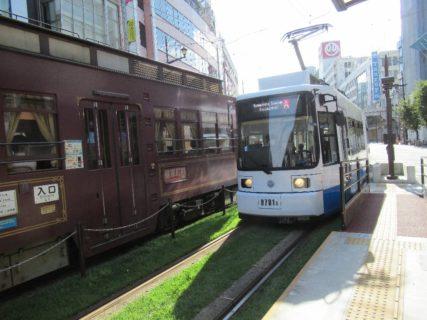 通町筋停留場は、熊本市中央区手取本町4番地にある熊本市交通局の電停。