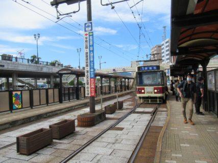 長崎駅前停留場は、長崎市大黒町7番1号先にある長崎電気軌道の停留場。