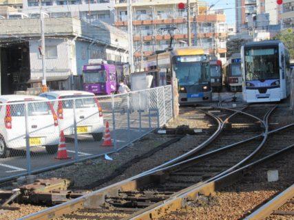 浦上車庫停留場は、長崎市大橋町にある長崎電気軌道の停留場。