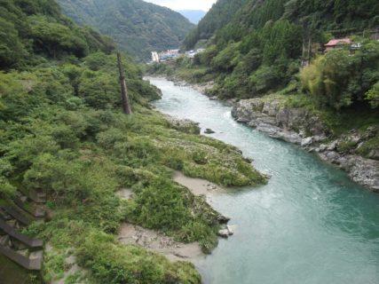 大歩危橋からの眺めも絶景でございましたです。