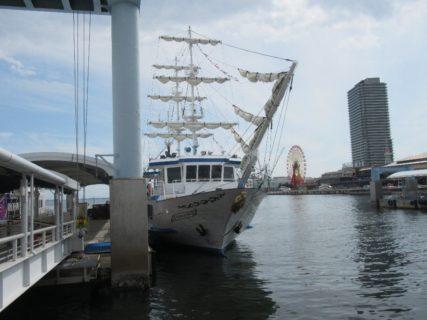 神戸港観光周遊船、オーシャンプリンスでございます。