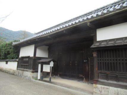 香川家長屋門は、山口県の有形文化財に指定されている。
