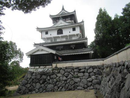 岩国城天守閣、正確には岩国城天守台跡です。