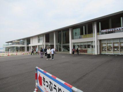 宮島口旅客ターミナルに隣接する「etto」でございます。