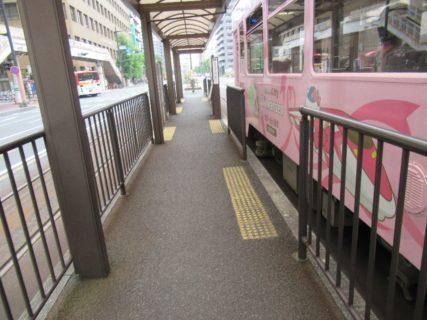 郵便局前停留場は、岡山市北区磨屋町及び中山下にある岡山電軌の停留場。