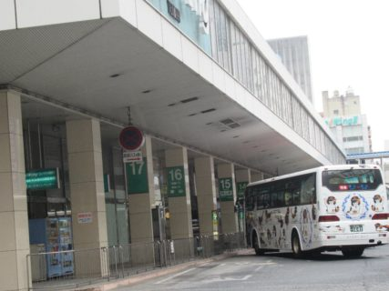 天満屋バスステーションは、岡山市北区中山下2丁目にあるバスターミナル。