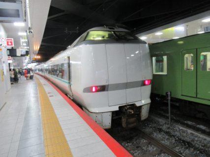 新大阪駅から特急くろしお号に乗車です。